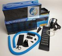 Vipsun Fish VS-7800 - Bộ Máng và Máy Bơm Lọc Nước Hồ Cá - Có bông lọc