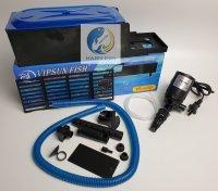 Vipsun Fish VS-680 - Bộ Máng và Máy Bơm Lọc Nước Hồ Cá